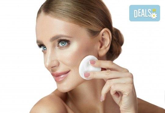 Чиста и сияйна кожа! Ултразвуково почистване на лице и лимфодренажен масаж по желание в Narmaya beauty lounge - Снимка 2