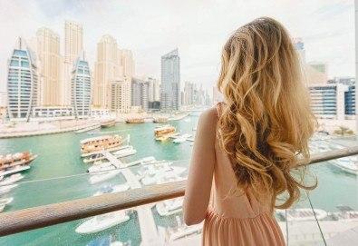 Майски празници в Дубай! 5 нощувки със закуски в Rose Park Hotel 4*, самолетен билет и трансфери, сафари в пустинята и круиз в Дубай Марина - Снимка