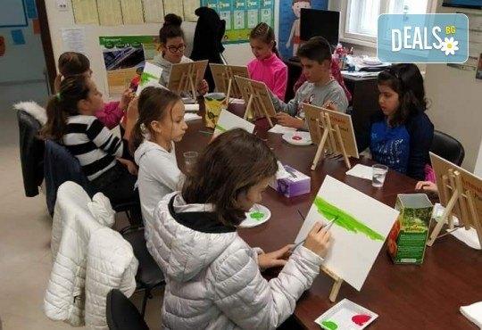 Рисуване на картина Spongebob за деца и възрастни на 02.05. от 18ч. от Образователна академия Smile - Снимка 2