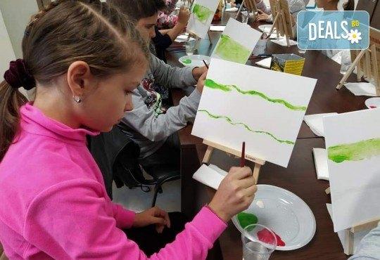 Рисуване на картина Spongebob за деца и възрастни на 02.05. от 18ч. от Образователна академия Smile - Снимка 1