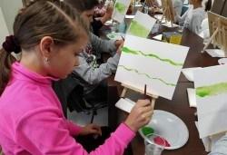 Рисуване на картина Spongebob за деца и възрастни на 02.05. от 18ч. от Образователна академия Smile - Снимка