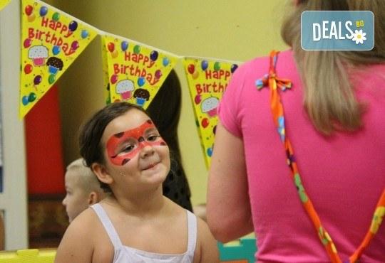 Рожден ден! Наем на зала 2 часа за детско парти с украса, парти музика, зала за възрастни в Детски център Пух и Прасчо в широкия център на София - Снимка 4