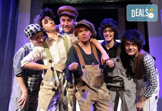 За децата! На 8-ми март (неделя) гледайте Том Сойер по едноименния детски роман на Марк Твен в Малък градски театър Зад канала! - Снимка 7