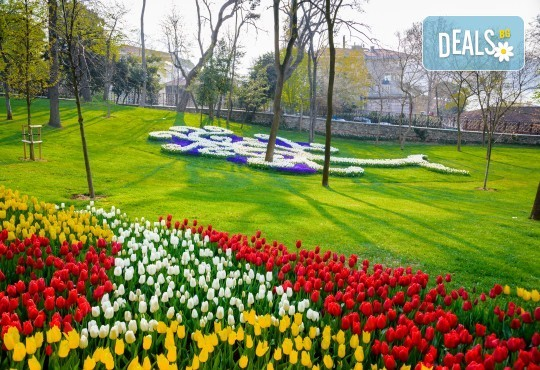 Екскурзия за Фестивала на лалето, Истанбул, Травел Хепи Енд! 2 нощувки със закуски в Hotel Dempa 3*, Лалели, транспорт, водач и посещение на Емирган Парк и Одрин - Снимка 1