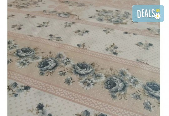 Стилен и качествен спален комплект от 100 % памук-ранфорс с десен по избор от Spalnoto Belio - Снимка 5