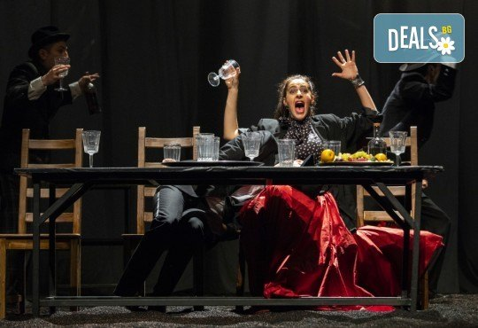 Гледайте черната комедия Емигрантски рай на 18.03. от 19ч. в Театър ''София'', билет за един! - Снимка 7