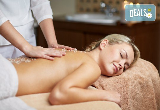 Терапия Блаженство и релакс - масаж на цяло тяло с натурални масла, био пилинг, лифтинг масаж и маска на лице + точков масаж на скалп в Skin Nova - Снимка 1