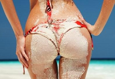 Сбогувайте се с портокаловата кожа! Мануален антицелулитен масаж със загряващи антицелулитни масла на зона по избор - 1 или 5 процедури, в Mery Relax - Снимка