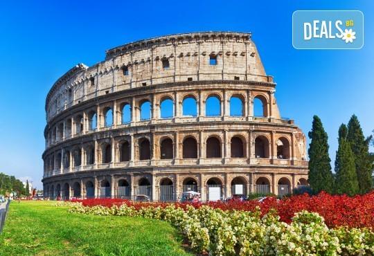 Екскурзия през пролетта до Рим на супер цена! 3 или 4 нощувки със закуски в централен район, самолетен билет и екскурзовод - Снимка 1