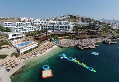 Ранни записвания за почивка през септември в Delta Beach Resort 5*, Бодрум! 7 нощувки на база All Inclusive Plus, възможност за транспорт - Снимка