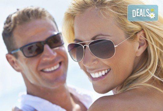 Избелване на зъби с иновативната система PURE на фирма Axis, почистване на зъбен камък и обстоен стоматологичен преглед от д-р Диляна Кънчева - Снимка 2
