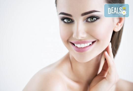 Избелване на зъби с иновативната система PURE на фирма Axis, почистване на зъбен камък и обстоен стоматологичен преглед от д-р Диляна Кънчева - Снимка 1