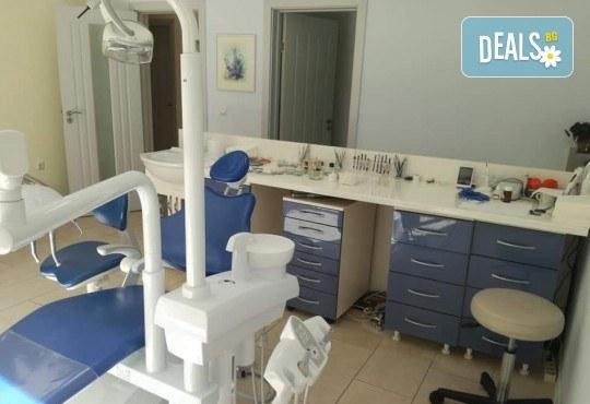 Избелване на зъби с иновативната система PURE на фирма Axis, почистване на зъбен камък и обстоен стоматологичен преглед от д-р Диляна Кънчева - Снимка 5