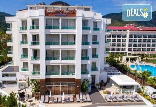 Септември в Munamar Beach Residence 5*, Мармарис: 7 нощувки на база All Inclusive