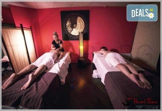 90-минутен СПА ритуал Колагеново захранване! Маска на цяло тяло с морски колаген, 60 мин. масаж и релаксация в солна стая за един или двама в новия Thai SPA в The MALL - Снимка 1