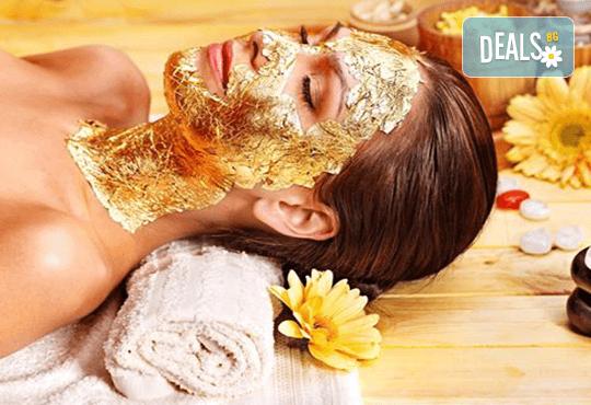 65-минутен СПА ритуал за гладка и сияйна кожа! Детокс вана със соли и масла от Тайланд и терапия за лице, за един или двама в Thai SPA, Sopharma Towers - Снимка 1