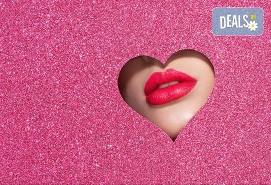 Неинвазивно влагане на хиалурон на лице и/или устни чрез ултразвук в салон за красота Bellisima - Снимка 1