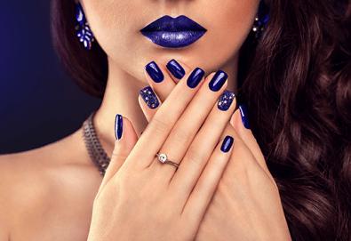 Перфектни ръце! Дълготраен маникюр с гел лак BlueSky в WAVE STUDIO - НДК! - Снимка