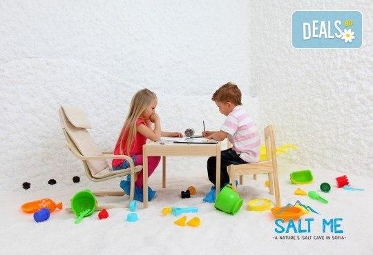 Солна терапия за деца или възрастни в СОЛ МИ в The MALL