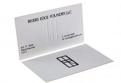 Печат на двустранни цветни визитки - 100, 500 или 1000 броя, и включена доставка от Web Designs Ltd - Снимка