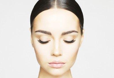 За покоряващ поглед! Поставяне на мигли по метода косъм по косъм в салон за красота Магнолия, кв. Лозенец - Снимка