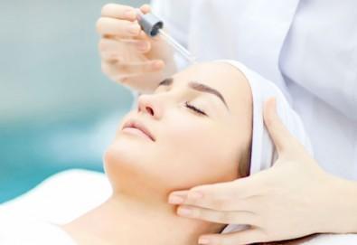 За дълбоко почистена и видимо подхранена кожа! Диамантено микродермабразио, кислородна терапия и нанасяне на ампула, според нуждите на кожата в Narmaya beauty lounge - Снимка