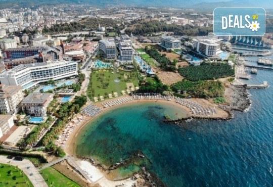 Почивка за Майски празници в чисто новия хотел Lonicera Premium 4* в Алания! 7 нощувки на база Ultra All Inclusive, възможност за транспорт - Снимка 1