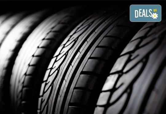 Сваляне, качване, демонтаж, монтаж и баланс на 2 гуми в Мобилен автосервиз Скилев - Снимка 2