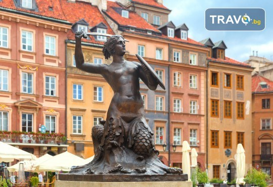 Екскурзия през юли до Варшава и Краков! 4 нощувки и закуски, транспорт, водач, посещение солна мина Величка и мемориала Аушвиц - Снимка 6
