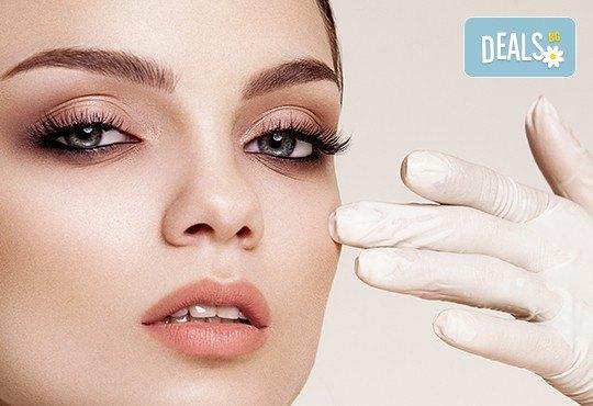Почистване на лице и оформяне на вежди, anti-age масаж или терапия с ултразвук за проблемна кожа в студио Нова - Снимка 1