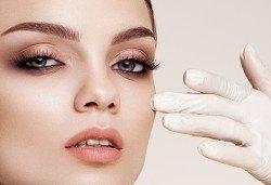 Почистване на лице и оформяне на вежди, anti-age масаж или терапия с ултразвук за проблемна кожа в студио Нова - Снимка