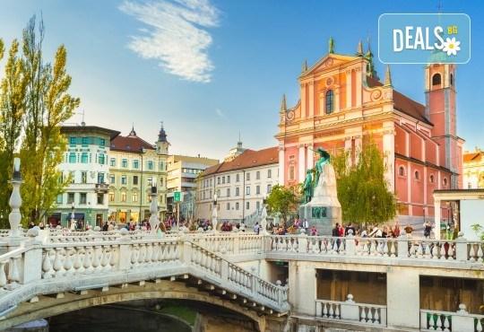 Екскурзия през април до Белград, Загреб и Любляна! 2 нощувки и закуски, транспорт и възможност за посещение на замъка Предяма и Постойна яма - Снимка 1