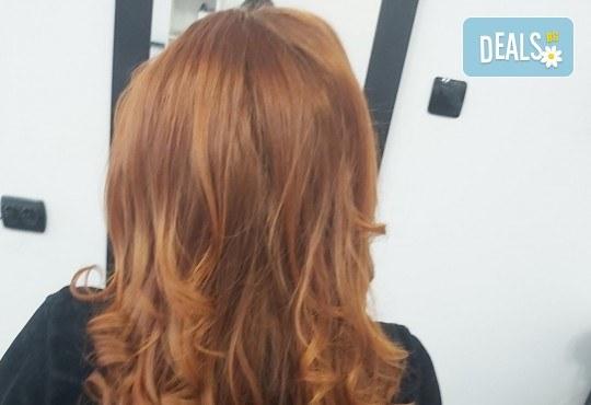 Терапия за коса, оформяне със сешоар и стилизиране на прическа в салон за красота Bibi Fashion! - Снимка 6