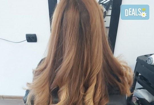 Терапия за коса, оформяне със сешоар и стилизиране на прическа в салон за красота Bibi Fashion! - Снимка 5