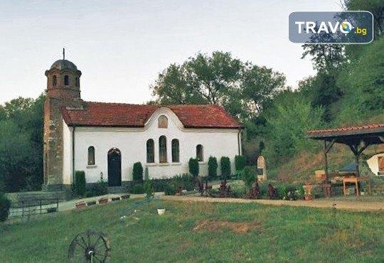 Еднодневна екскурзия до Годеч и Шияковския манастир с туроператор Поход - транспорт, водач и посещение на еко мандра с дегустация - Снимка 1