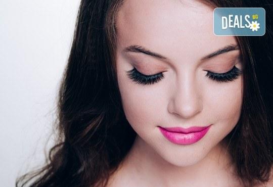 Красиви очи! Поставяне на мигли по метода косъм по косъм или обемна техника в NSB Beauty Center - Снимка 1
