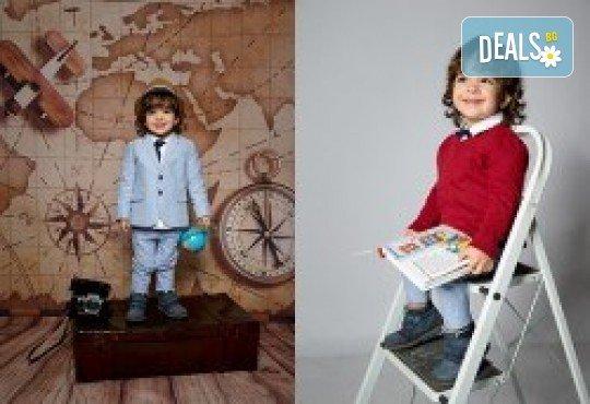 Индивидуална, детска или семейна фотосесия в студио и обработка на всички заснети кадри от Chapkanov photography - Снимка 30