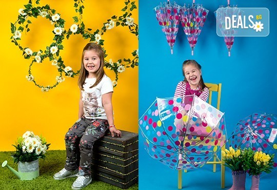 Индивидуална, детска или семейна фотосесия в студио и обработка на всички заснети кадри от Chapkanov photography! - Снимка 3