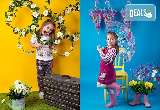Индивидуална, детска или семейна фотосесия в студио и обработка на всички заснети кадри от Chapkanov photography! - Снимка 7