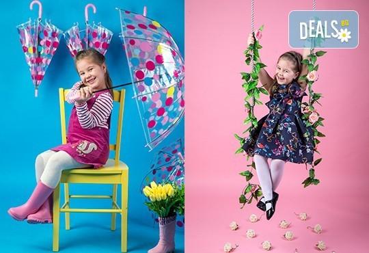Пролетно-великденска фотосесия и обработка на всички кадри от