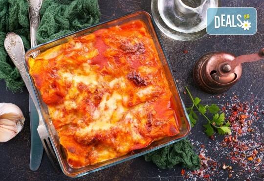 По оригинална рецепта! Вземете лазаня Прошуто или 4 сирена от Kулинарна работилница Деличи - Снимка 1