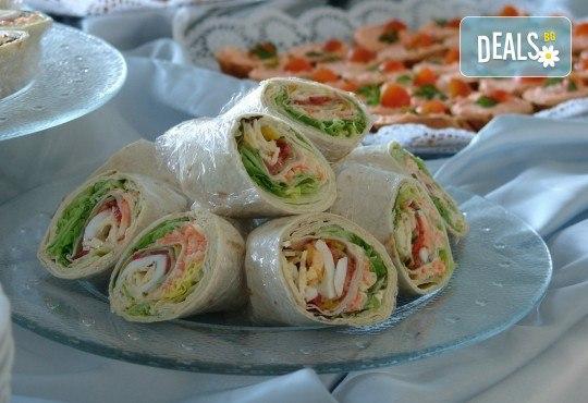 100 броя хапки в сет за Вашия специален повод от кулинарна работилница Деличи - Снимка 3