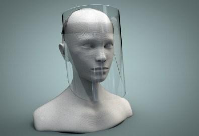 Маска за лице за многократна употреба, изработена от вералит, от New Partner Ideas - Снимка