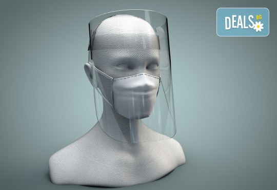 Маска за лице за многократна употреба, изработена от вералит, от New Partner Ideas - Снимка 2