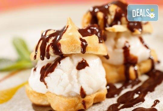 Вземетe за вкъщи или за офиса комбинирано меню от салата, основно и десерт по избор от H&D catering! - Снимка 3