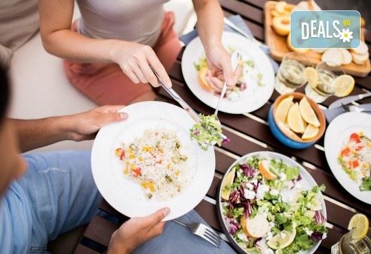 Вземетe за вкъщи или за офиса комбинирано меню от салата, основно и десерт по избор от H&D catering! - Снимка 1