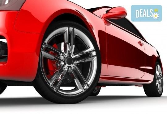 Качествено обслужване на добри цени! Смяна на 2 броя гуми на лек автомобил в автоцентър Торнадо - Снимка 1