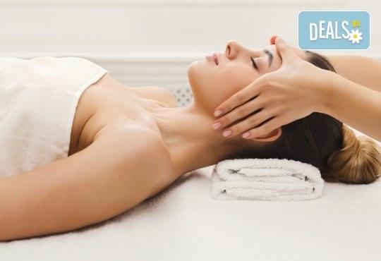 Антистрес масаж на тяло, рефлексотерапия и лифтинг масаж на лице в