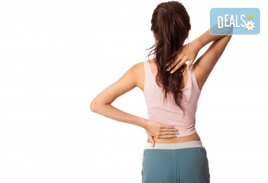 Болкоуспокояващ лечебен масаж на гръб със загряващи био масла, рефлексотерапия и 10% отстъпка от всички услуги на салон Женско Царство - Снимка 2