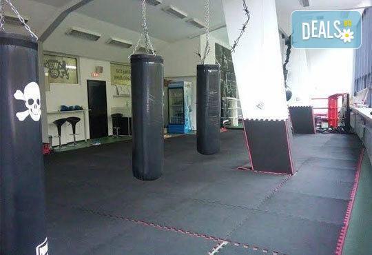 Сила и издръжливост! Пет тренировки по бокс и кикбокс за мъже, жени и деца на стадион Васил Левски в Боен клуб Левски - Снимка 5